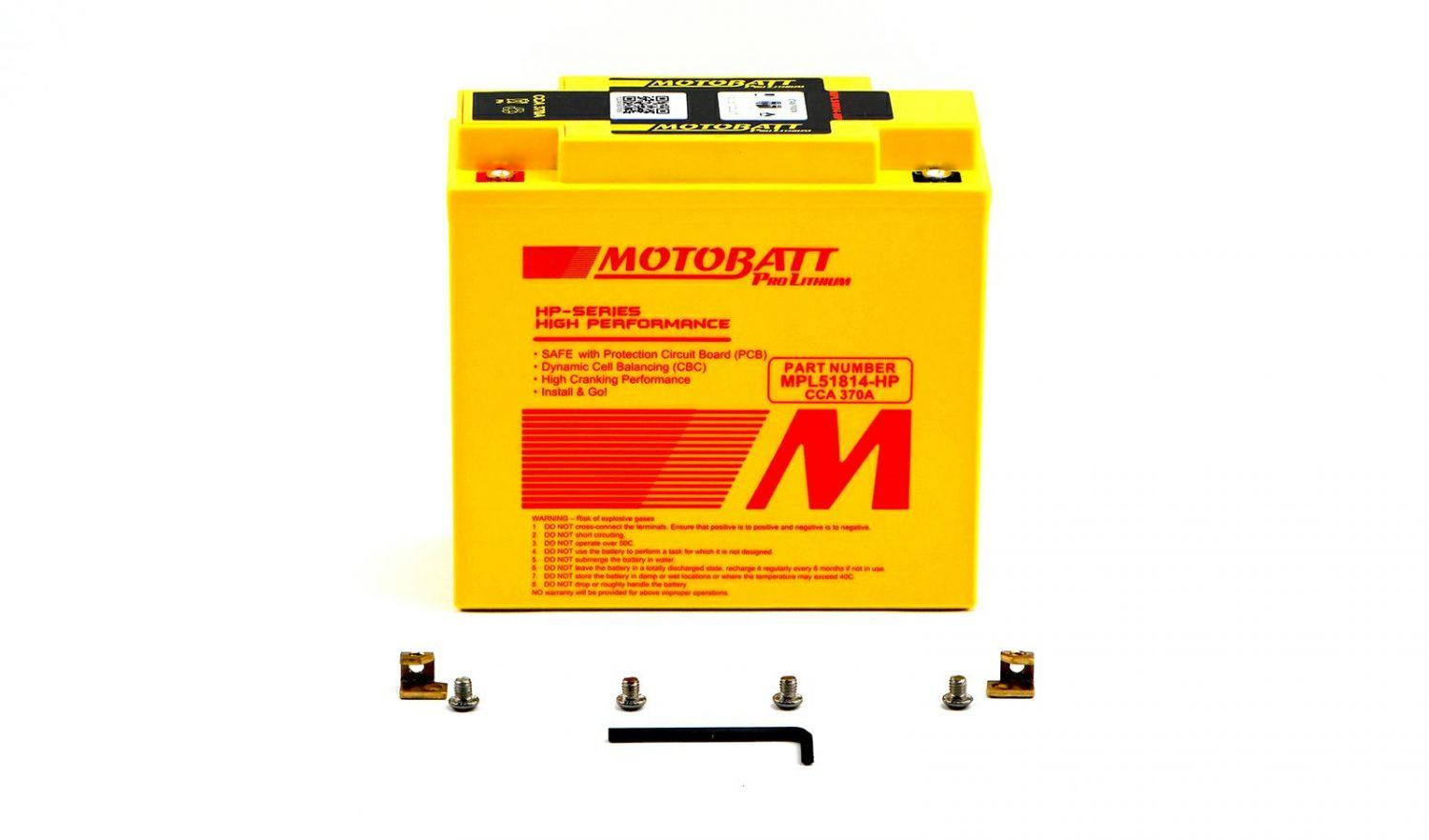 Motobatt Lithium Batteries - 501186MR image