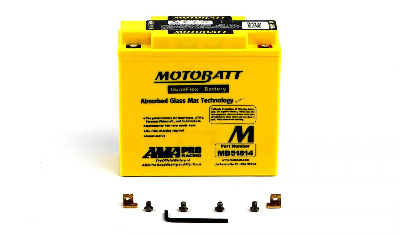Motobatt Batteries - 501186MY image