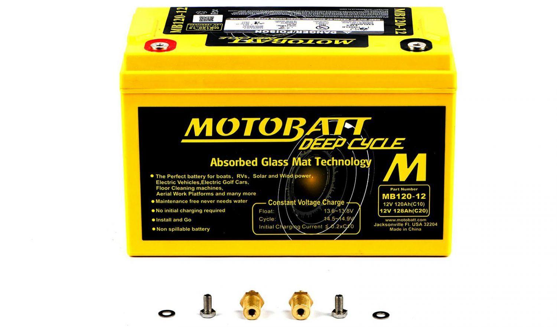 Motobatt Batteries - 501658MY image
