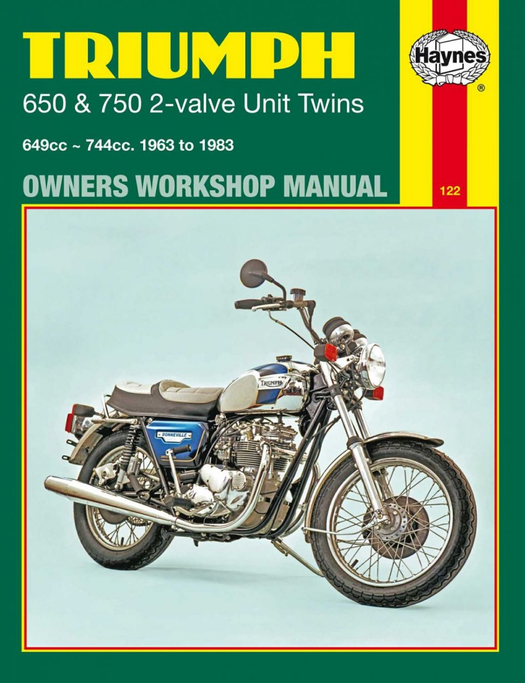 Haynes Manuals - 680122Y image