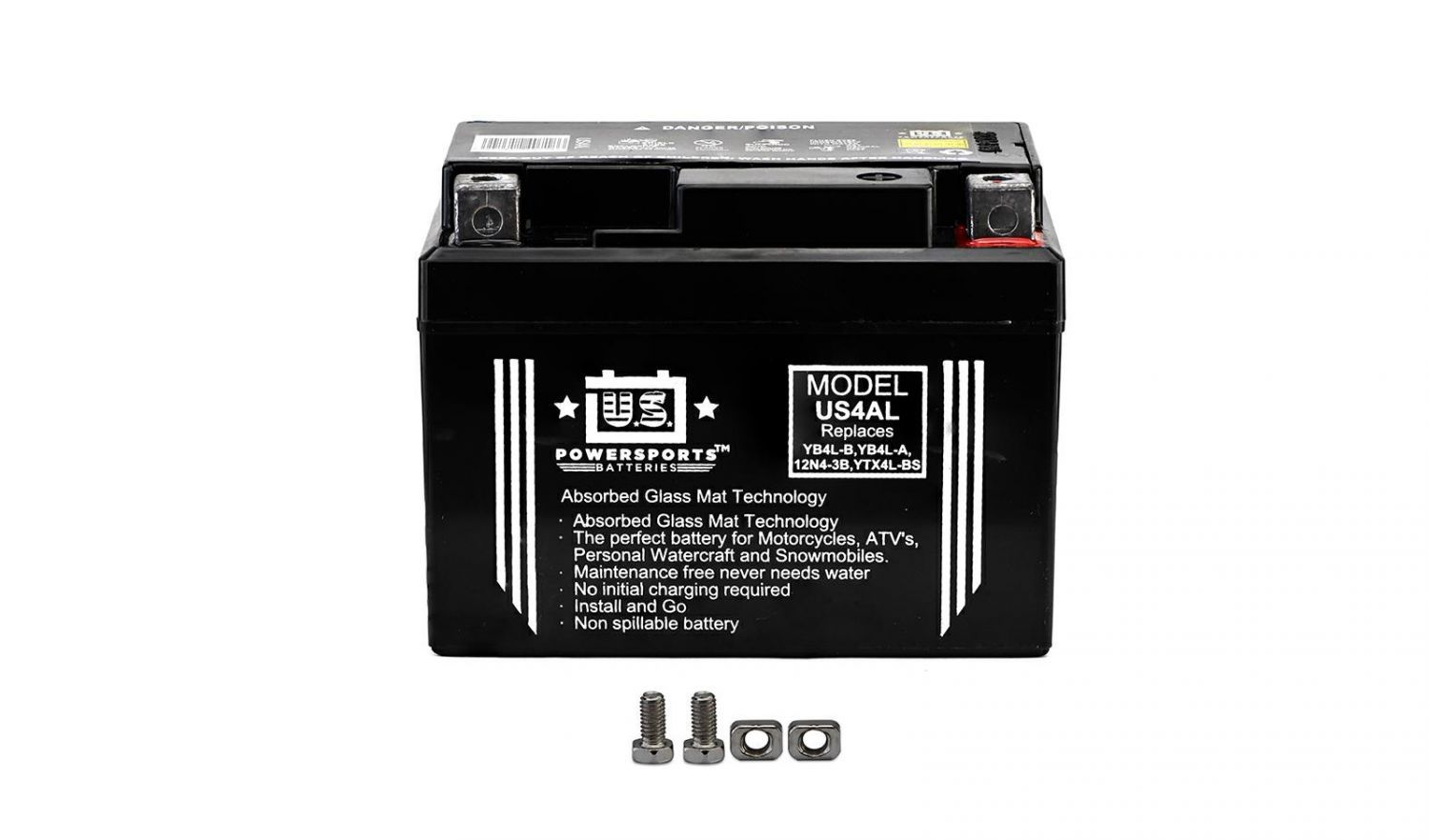 US Powersports Sealed Battery - 501045U image