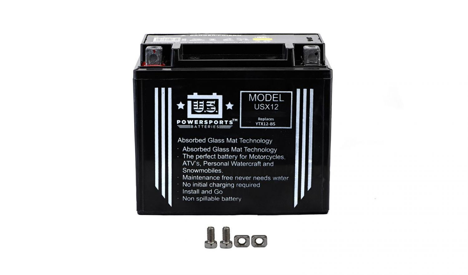 US Powersports Sealed Battery - 501125U image