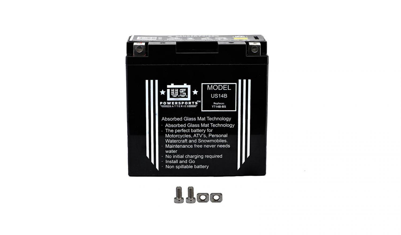 US Powersports Sealed Battery - 501146U image