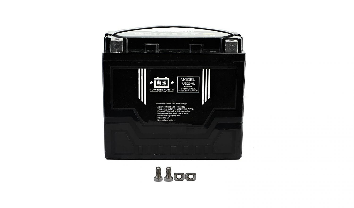 US Powersports Sealed Battery - 501205U image