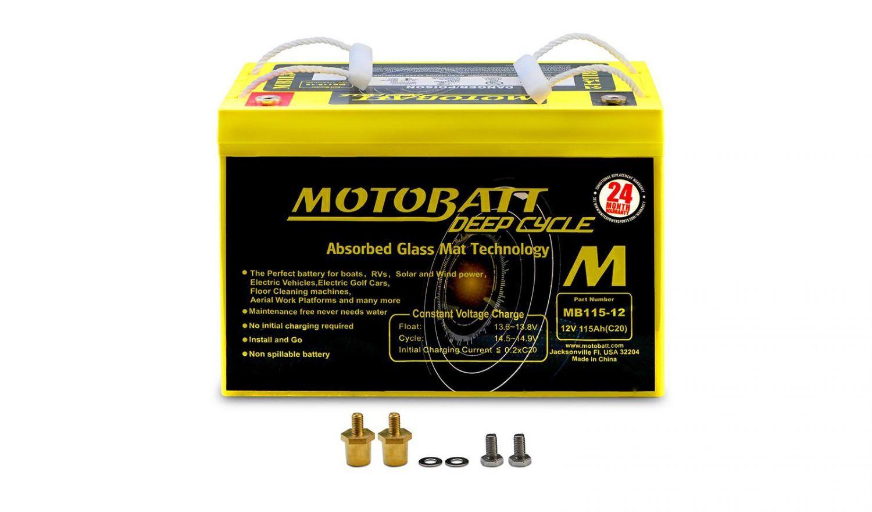 Motobatt Batteries - 501654MY image